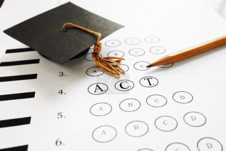Kreis, hoch, Papier, mehrere, Schule, Prüfung - B87256106