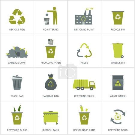 grün, Vektor, Papier, Tasche, Glas, Feld - B63479099