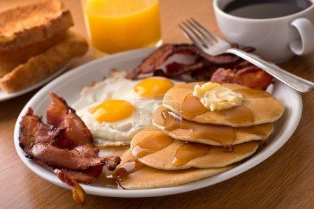 Seite, Ahorn, Orange, Fleisch, Lebensmittel, Platte - B62790683
