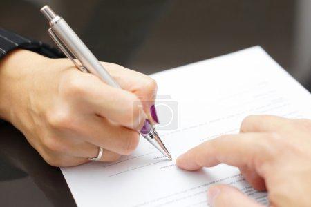 Papier, Unternehmen, Zeichen, Form, Mann, Hand - B57142555
