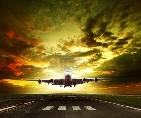 Große, Himmel, Schön, Unternehmen, Reise, Morgen - B58319143