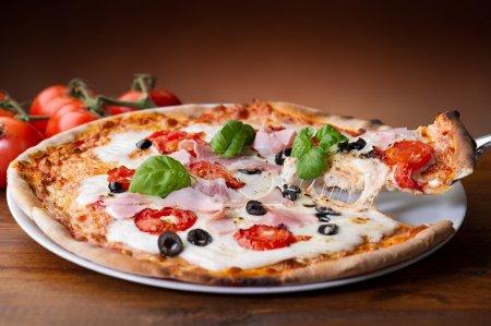 Tisch, Bar, rot, weiß, Hintergrund, auf - B6400472